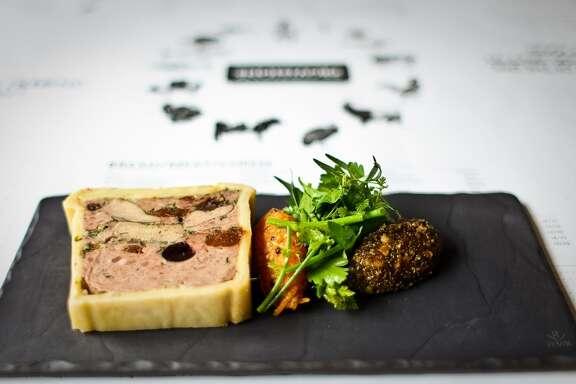 Provision restaurant's Pate en Croute