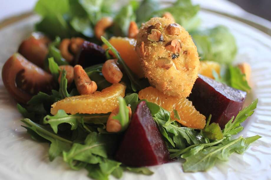 A beet salad with Indian spices at Kiran's.  Photo: Karen Warren, Houston Chronicle