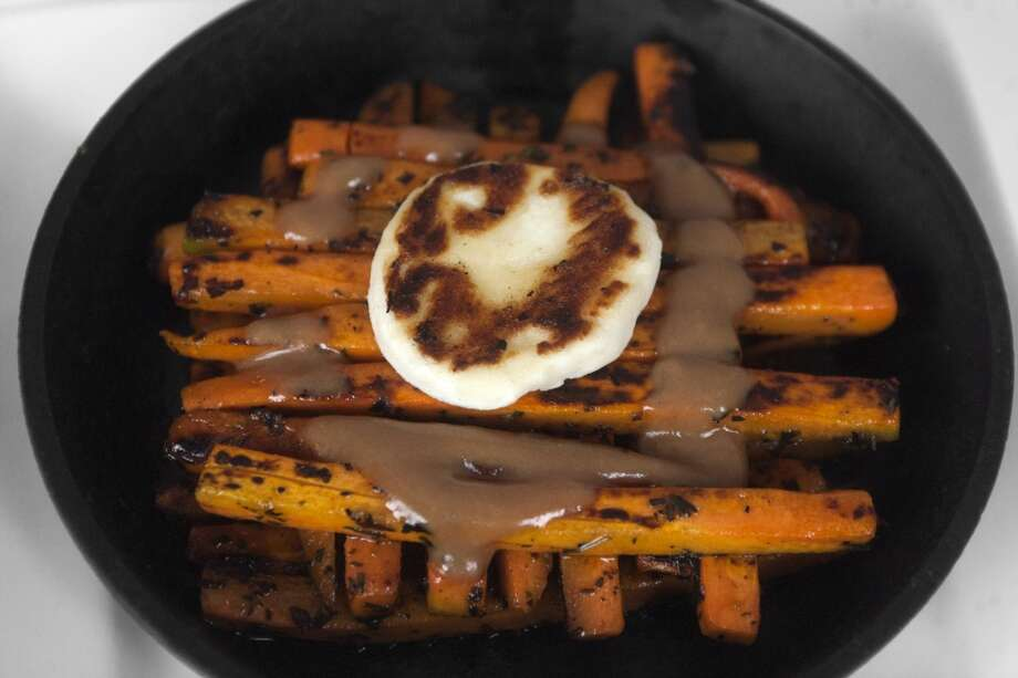 PiqueoCuisine: PeruvianDish: carrot with goat cheeseWhere: 13215 Grant, No#1800, CypressPhone:281-257-9097Website: piqueo.com Photo: J. Patric Schneider, For The Houston Chronicle