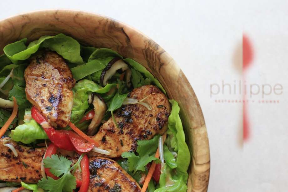 Thai Chicken Salad at Philippe restaurant. Photo: Michael Paulsen, Houston Chronicle