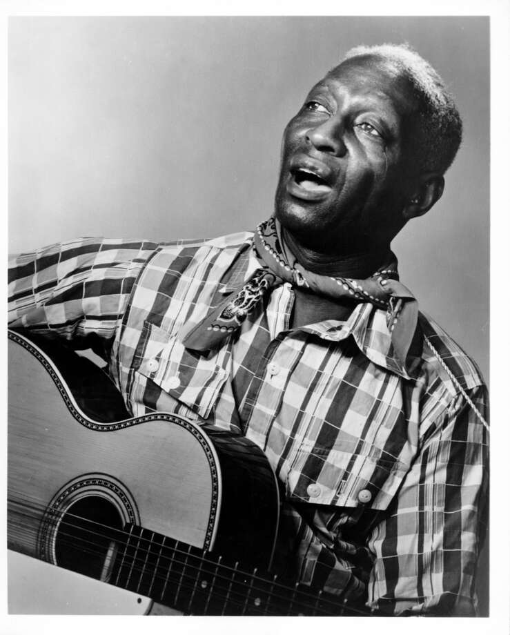 'Midnight Special' by Leadbelly Sample lyrics: If you ever go to Houston, you better walk right / You better not stagger, you better not fight Photo: Michael Ochs Archives