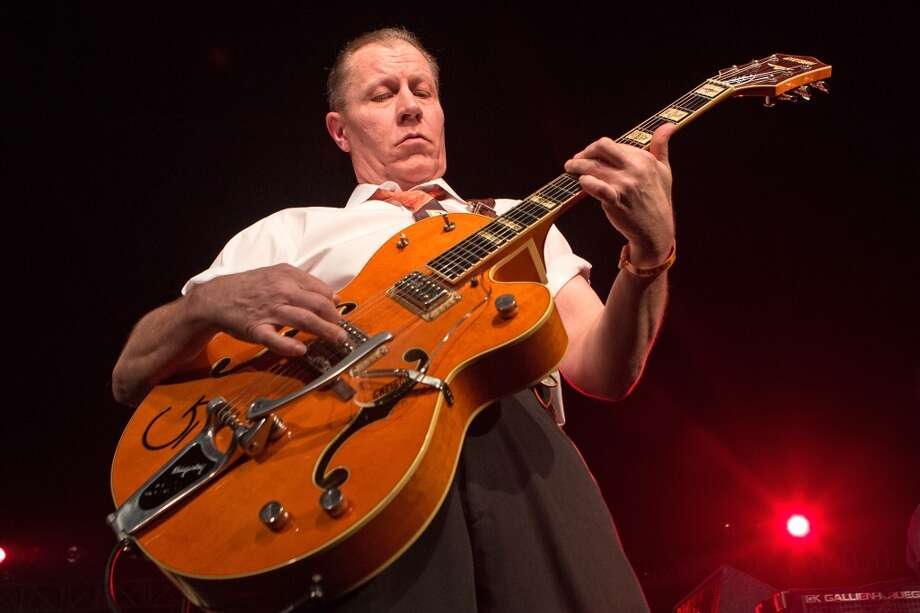 'Living on the Edge (of Houston)' by Reverend Horton Heat Sample lyrics: Now you're livin' on the edge your livin' / On the edge you're livin', / Livin' on the edge of Houston Photo: Paul A. Hebert, Getty Images