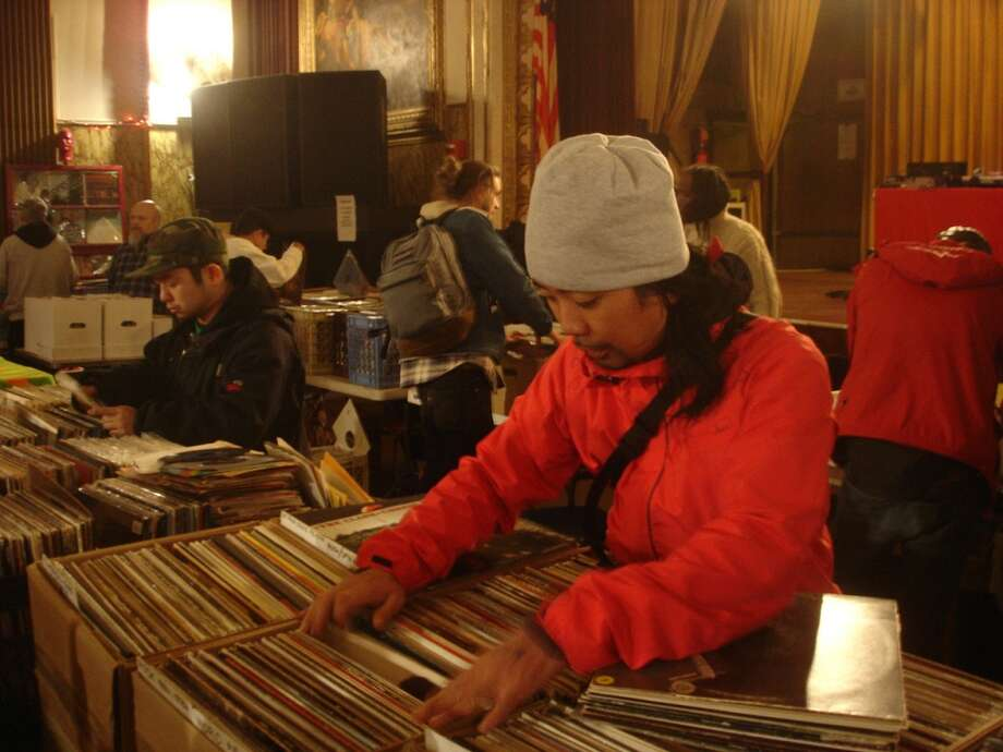 WPKN and Record Riots will present a record fair, Music Mash 2013, on Saturday, Sept. 7, in the annex of the Fairfield (Conn.) Theatre Company. Photo: Contributed Photo
