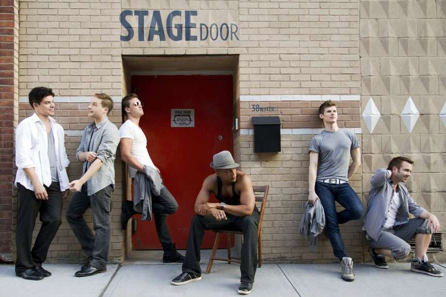 In between New York stage gigs, a rotating company of singer-actors perform as The Broadway Boys in concerts around the country. The group will be at Fairfield University on Saturday, Sept. 7. Photo: Contributed Photo