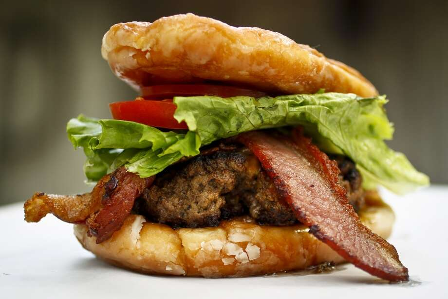 2) Doughnut Burger Photo: Michael Paulsen, Chronicle
