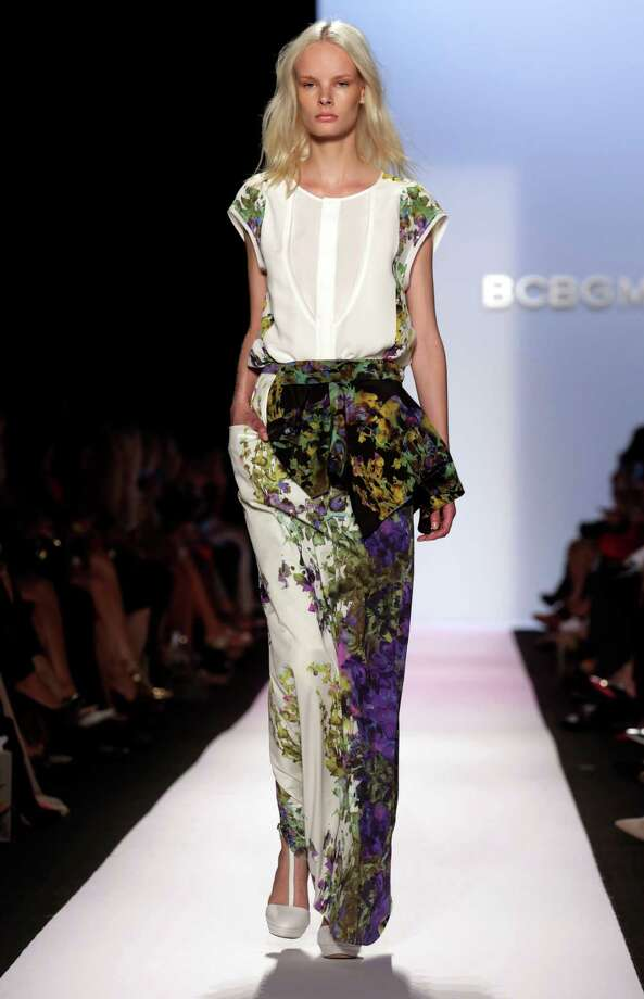 BCBG Max Azria is the first major show on the official New York Fashion Week calendar. Photo: Richard Drew, STF / AP