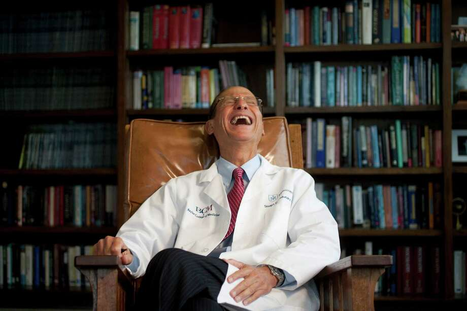 Dr. Stuart Yudofsky, Irene Ellwood Professor and Chairman of the Menninger Department of Psychiatry and Behavioral Sciences of Baylor College of Medicine and Chairman of the Psychiatry Department of The Methodist Hospital in his office at the Baylor Clinic Department of Psychiatry and Behavioral Sciences