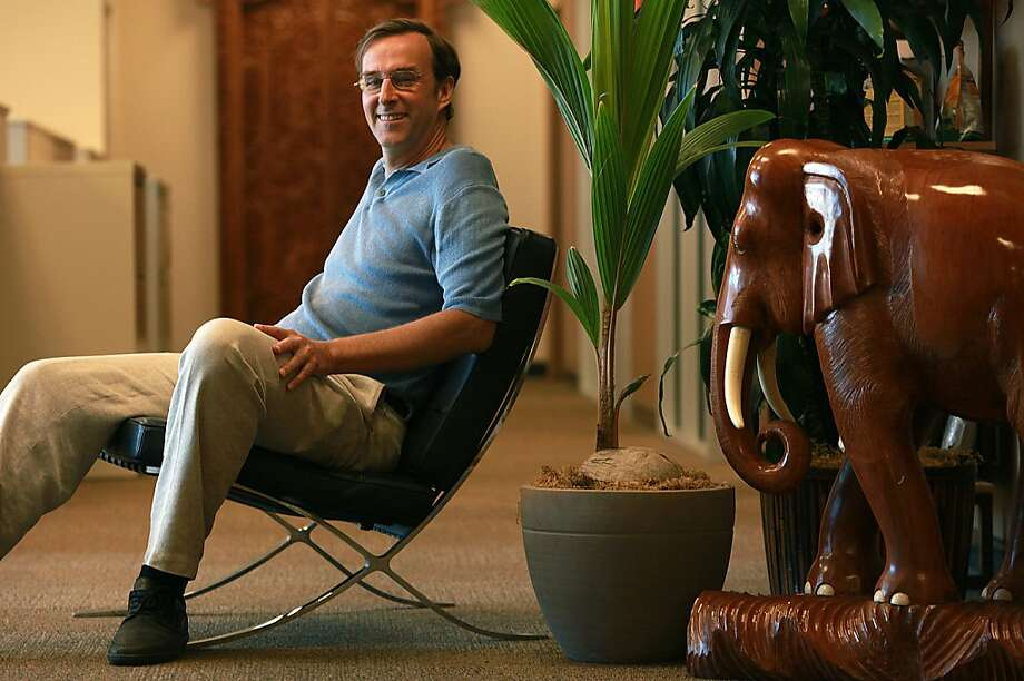 CEO John Roulac brought Nutiva back to the Bay Area last year, after relocating to Southern California in 2002. Photo: Liz Hafalia, The Chronicle