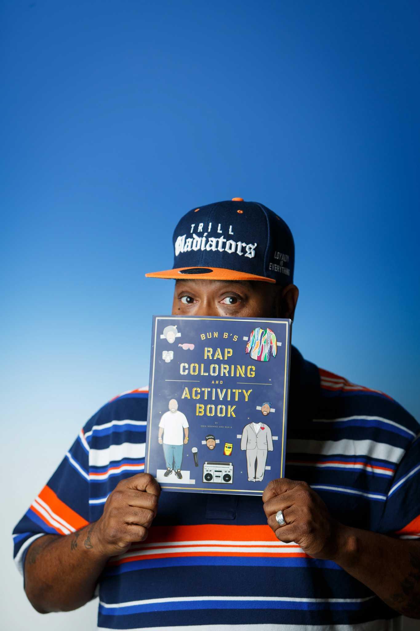 Bun B Collaborates With Teacher Shea Serrano On Coloring Book