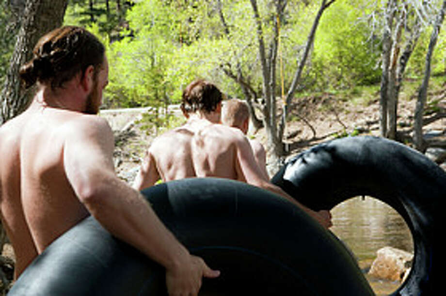 Tubin' – Not invented by rednecks, but we probably perfected it somewhere in the Frio or Comal rivers. The best tube shops even rent tubes made for drink coolers and pets.Great family fun. Photo: Getty Images / (c) Scott Kleinman