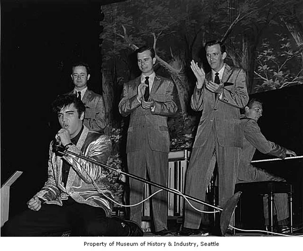 One enviable reader saw Elvis Presley's concert at Sicks Stadium on Sept. 1,1957.