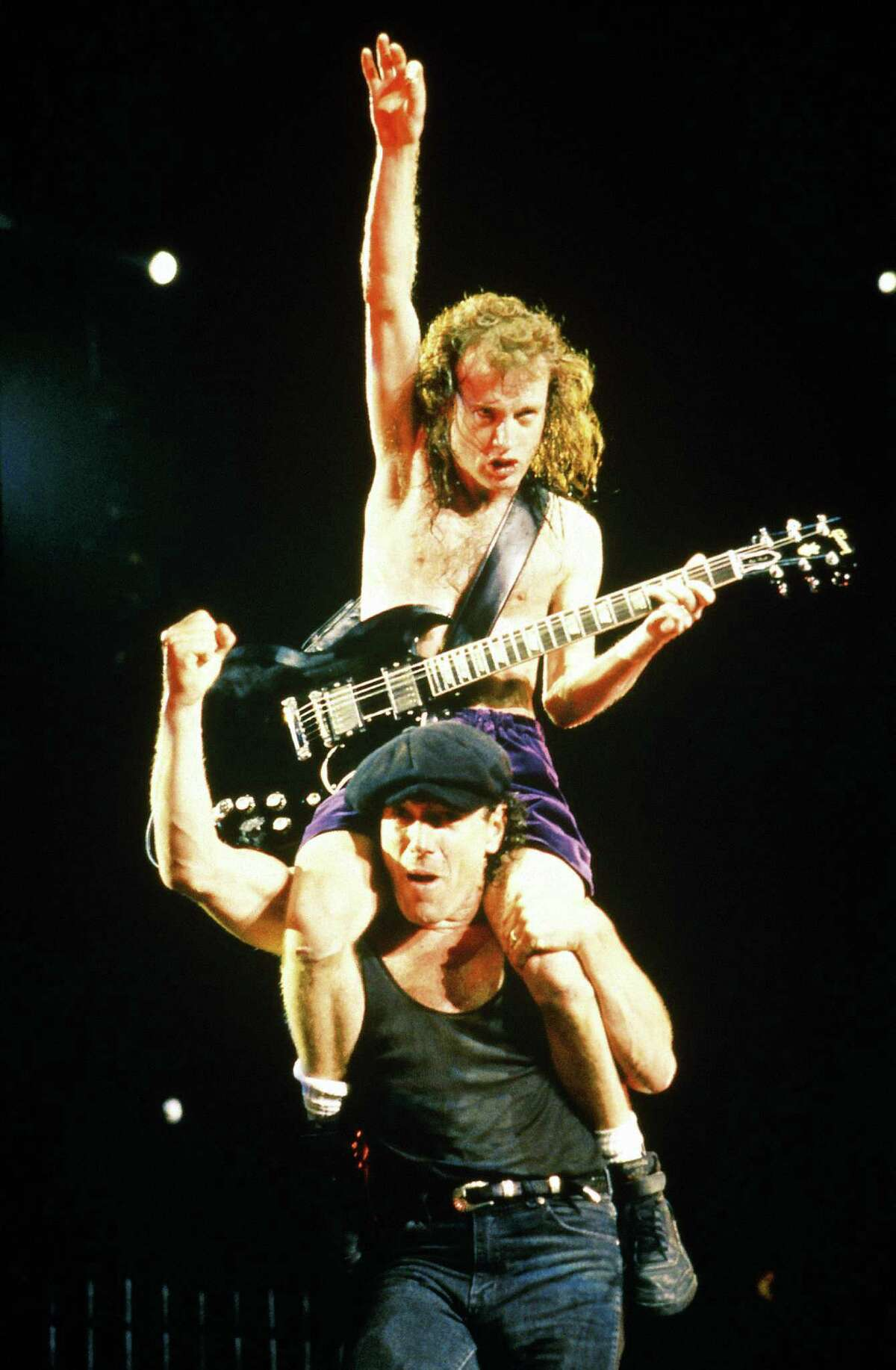Multiple readers saw AC/DC in the '80s for their first concert. John Stanford recalls,