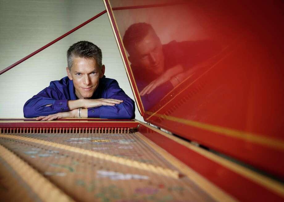 Matthew Dirst, the founder of Ars Lyrica. Photo: Michael Paulsen, Staff / © 2013 Houston Chronicle