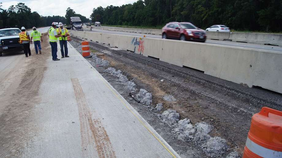 The man was working on a road-widening project (Photos: Montgomery County Police Reporter)