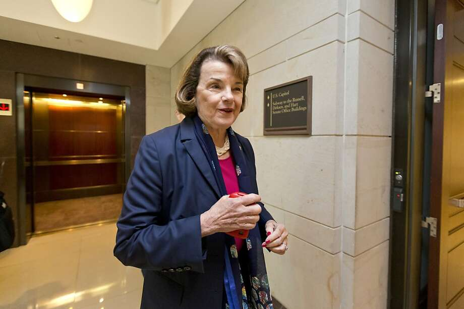 """Sen. Dianne Feinstein says the """"deciding factor"""" for her was the intelligence on Syria's use of chemical weapons. Photo: J. Scott Applewhite, Associated Press"""