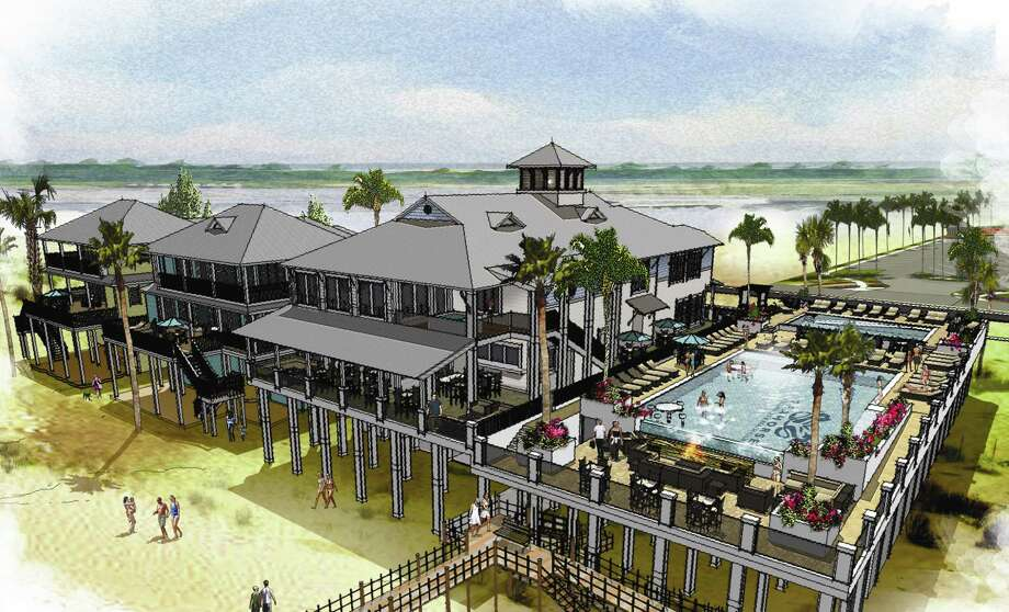Seahorse Beach Club & Residences will feature luxury homes, a clubhouse, pools, a spa and fitness center on Follett's Island. Photo: Kaplan Public Relations