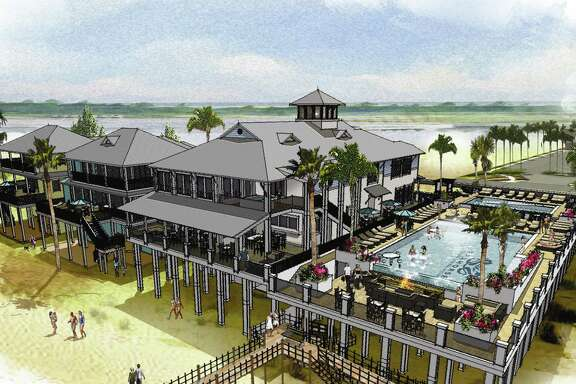 Seahorse Beach Club & Residences will feature luxury homes, a clubhouse, pools, a spa and fitness center on Follett's Island.