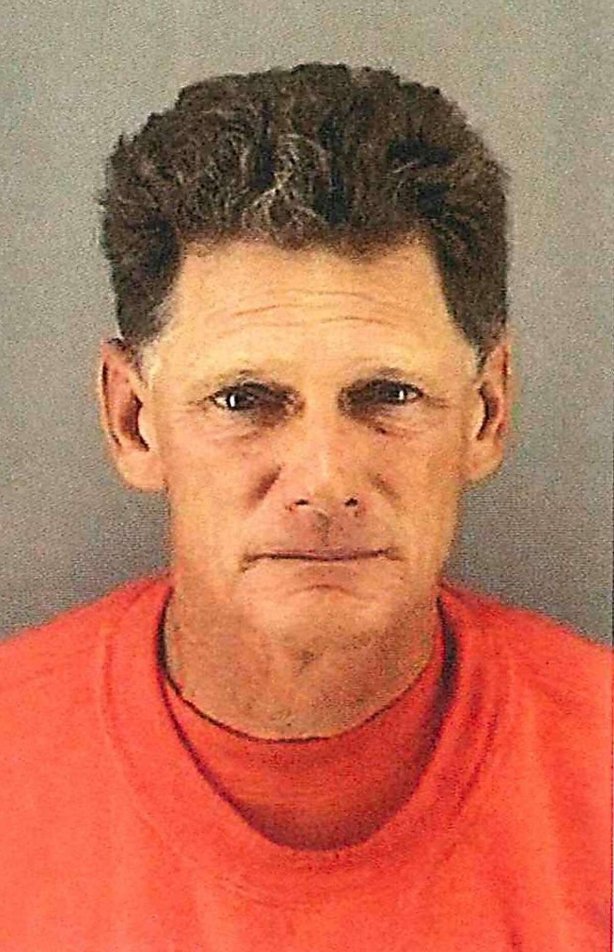 The San Francisco Police Department released this photo of Thomas Burnoski, 57, an employee of the city Recreation and Parks Department, who is accused of running over and killing 35-year-old Christine Svanemyr while she was lying on the grass at Holly Park in the Bernal Heights neighborhood, then driving away from the scene in his city-owned truck.