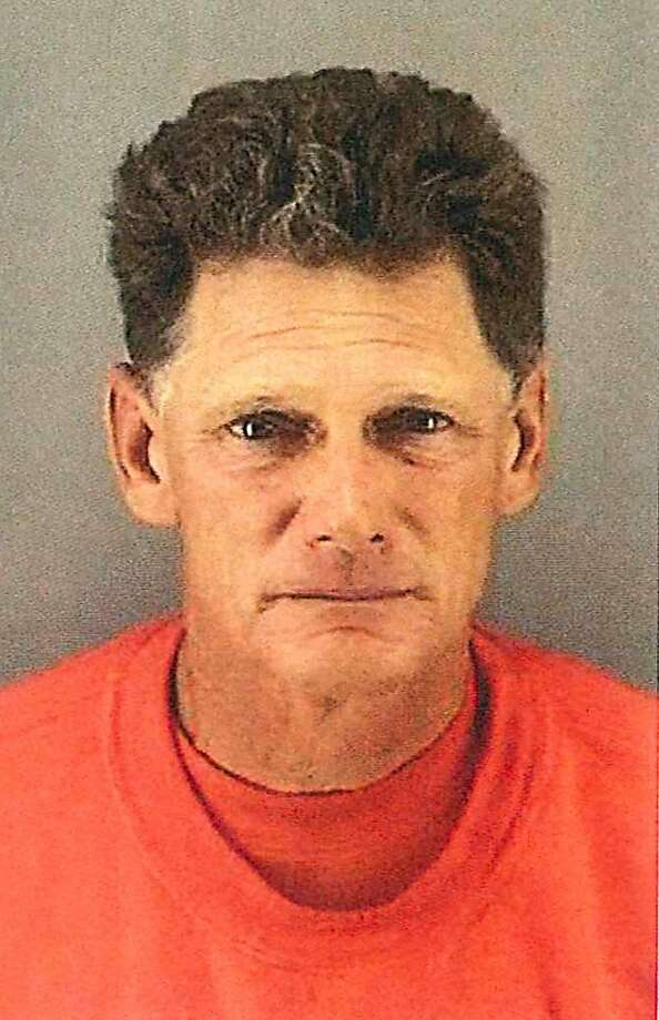 The San Francisco Police Department released this photo of Thomas Burnoski, 57, an employee of the city Recreation and Park Department, who is accused of running over and killing 35-year-old Christine Svanemyr while she was lying on the grass at Holly Park in the Bernal Heights neighborhood, then driving away from the scene in his city-owned truck. Photo: Sfpd