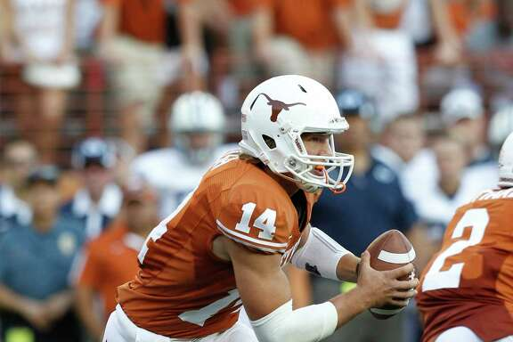 Quarterback David Ash has come a long way since coming off the bench and helping Texas beat BYU 17-16 in 2011 - the last time the teams played.