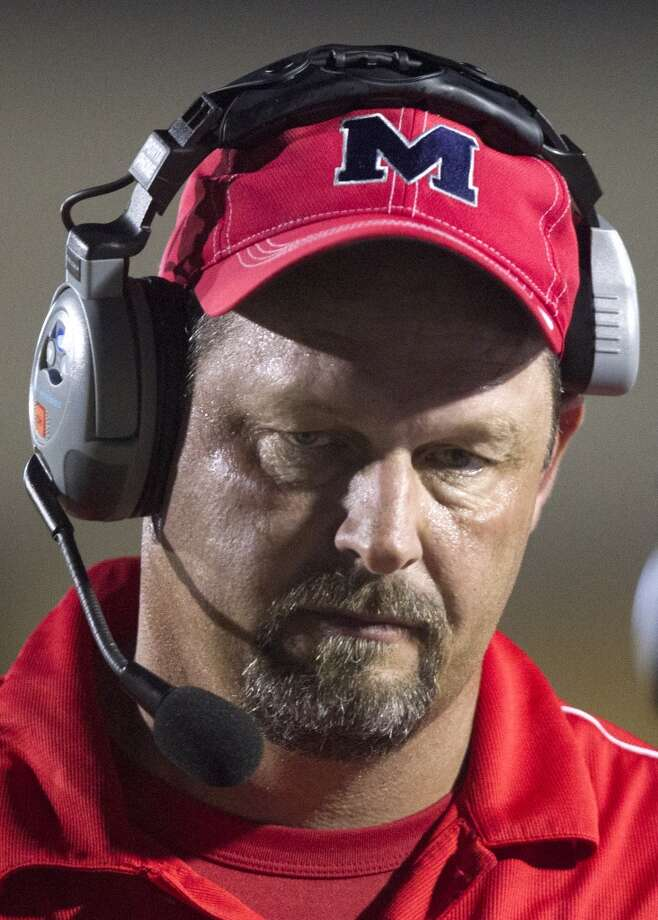 Manvel head coach Kirk Martin walks the sidelines during the first half of a high school football game against North Shore on Friday, Sept. 6, 2013, in Galena Park. ( J. Patric Schneider / For the Chronicle ) Photo: J. Patric Schneider, For The Chronicle
