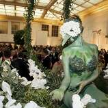 Creativity bloomed when event planner Colin Cowie designed the garden.