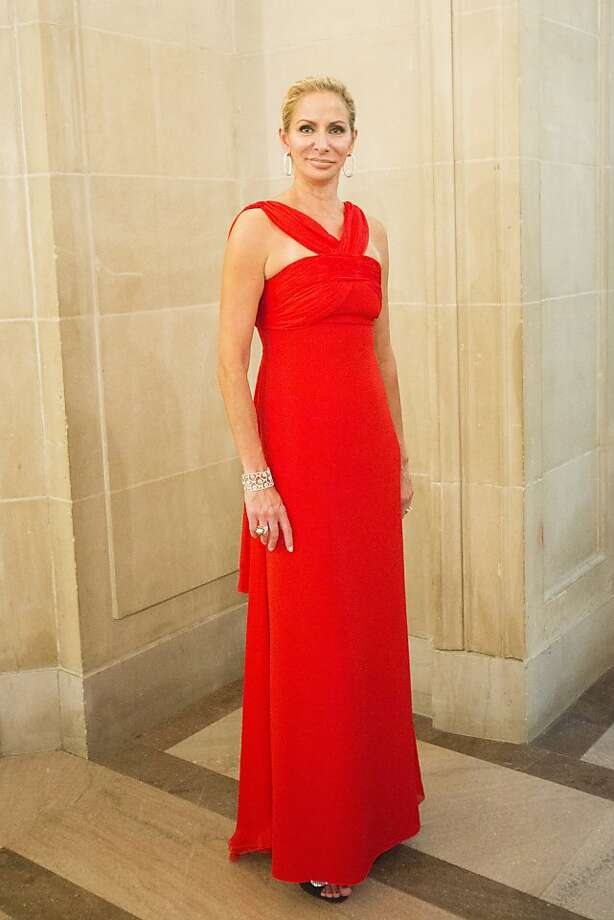 Angelique Griepp in a gown by Valentino during the 91st Season Opening Night Gala of the San Francisco Opera at City Hall in San Francisco, Calif. on Friday, Sept. 6, 2013. Photo: Stephen Lam, Special To The Chronicle