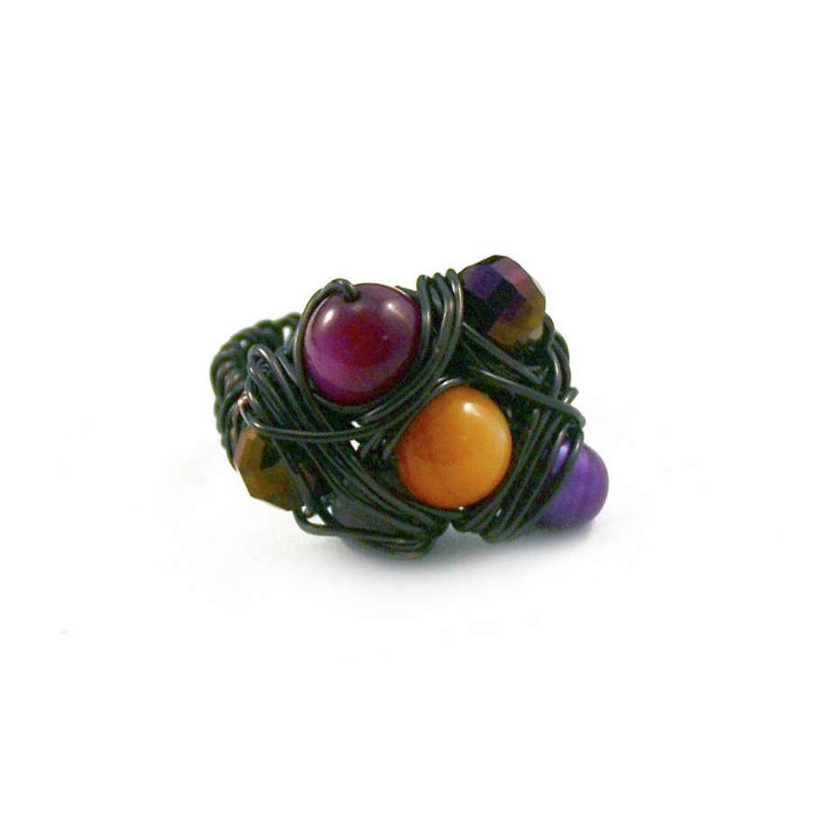 Purple Sunset  ring, People Like Shine, peoplelikeshine.com, $22.50 Photo: Larena Head, Cat5