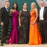(L-R) Colin Cowie, Mai Shiver, Karen Kubin, Ann Girard, and David Gockley stand for a photograph during the 91st Season Opening Night Gala of the San Francisco Opera at City Hall in San Francisco, Calif. on Friday, Sept. 6, 2013.