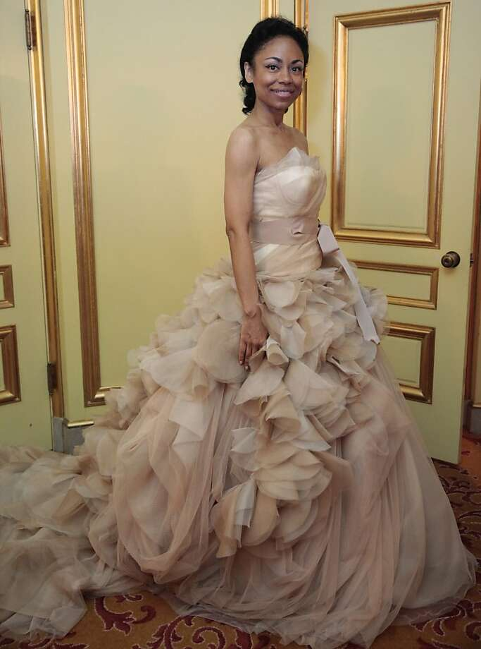 Tanya Powell in Vera Wang at the 91st San Francisco Season-Opening Opera Gala in San Francisco Calif. on Friday, Sept. 6, 2013. Photo: Alex Washburn, Special To The Chronicle
