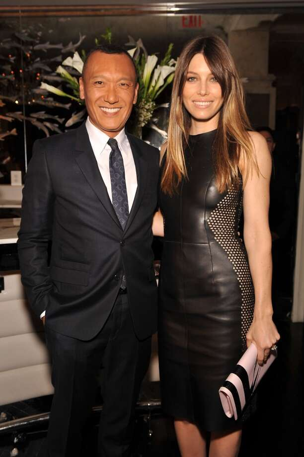 Creative Director of Elle Joe Zee and actress Jessica Biel attend The Daily Front Row's Fashion Media Awards at Harlow on September 6, 2013 in New York City.  (Photo by D Dipasupil/Getty Images for The Daily Front Row) Photo: D Dipasupil