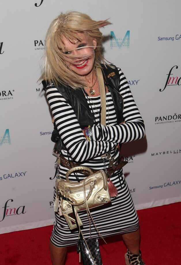 Betsey Johnson attends the Daily Front Row's Fashion Media Awards at Harlow on September 6, 2013 in New York City.  (Photo by Charles Norfleet/FilmMagic) Photo: Charles Norfleet, FilmMagic