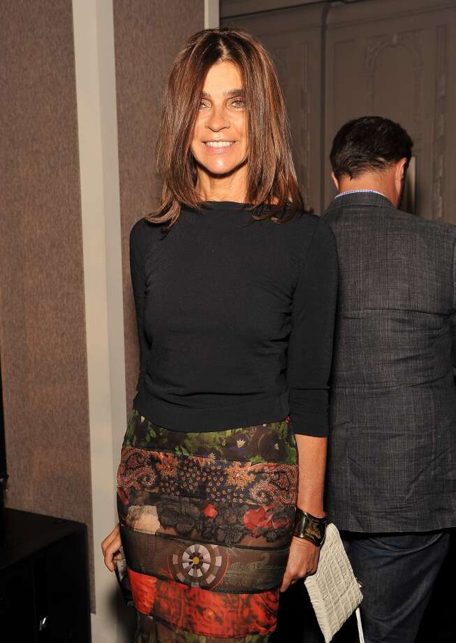 Editor-in-chief of CR Fashion Book Carine Roitfeld attends The Daily Front Row's Fashion Media Awards at Harlow on September 6, 2013 in New York City.  (Photo by D Dipasupil/Getty Images for The Daily Front Row) Photo: D Dipasupil