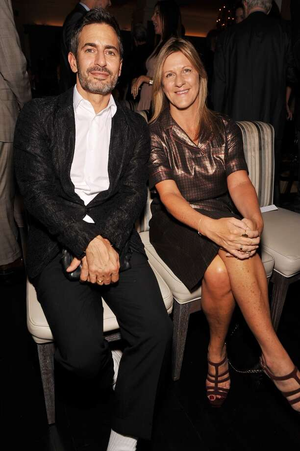 Fashion designer Marc Jacobs and Grazia Editor-in-Chief Jane Bruton attend The Daily Front Row's Fashion Media Awards at Harlow on September 6, 2013 in New York City.  (Photo by D Dipasupil/Getty Images for The Daily Front Row) Photo: D Dipasupil