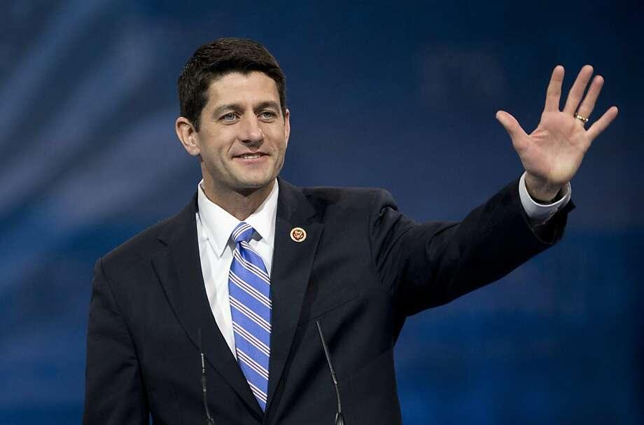 Rep. Paul Ryan, R-Wis., favors a path to citizenship despite intense opposition from Tea Party groups. Photo: Manuel Balce Ceneta, Associated Press