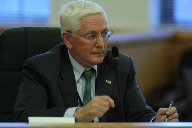 Malta supervisor Paul Sausville speaks during a Saratoga County Board of Supervisors meeting on Tuesday Jan. 3, 2012, in Ballston Spa, N.Y (Philip Kamrass / Times Union archive) Photo: Philip Kamrass / 00015832A