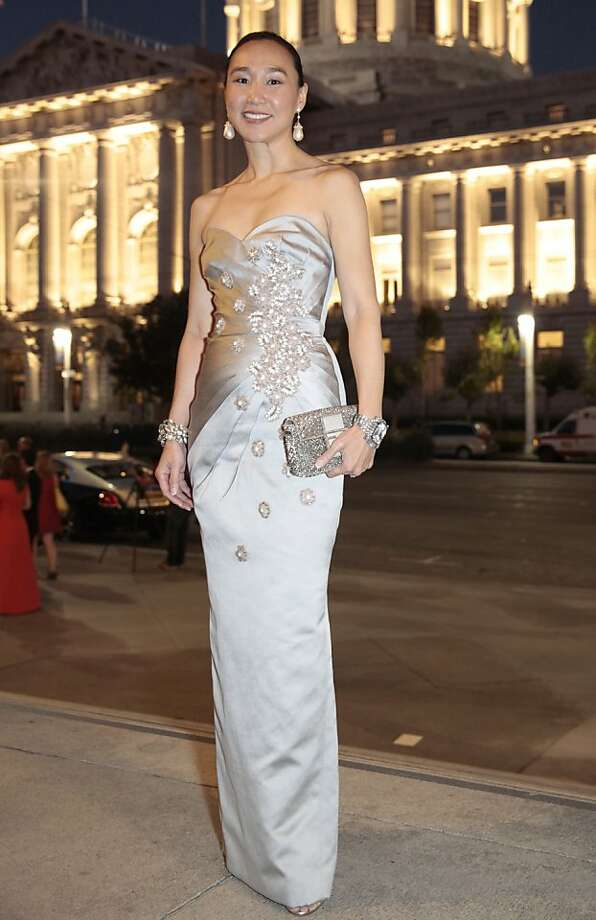 Dr. Carolyn Chang in an Andrew Gn gown at the 91st San Francisco Season Opening Opera Gala in San Francisco Calif. on Friday, Sept. 6, 2013. Photo: Alex Washburn, Special To The Chronicle