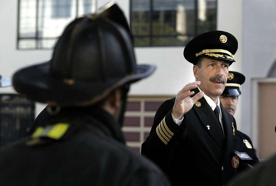 San Francisco Fire Department, Deputy Chief Tom Siragusa. Photo: Michael Macor, The Chronicle
