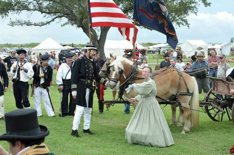 The annual Dick Dowling Days, hosted by the Texas Historical Commission, and held at the Sabine Pass