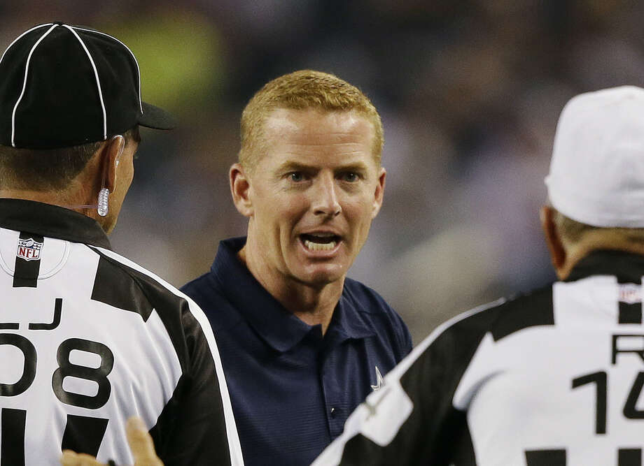 """Coach Jason Garrett said, """"Our responsibility is to bring quality people into our organization and find the best fit for them. That applies to players, and it applies to coaches."""" Photo: Tony Gutierrez / Associated Press"""