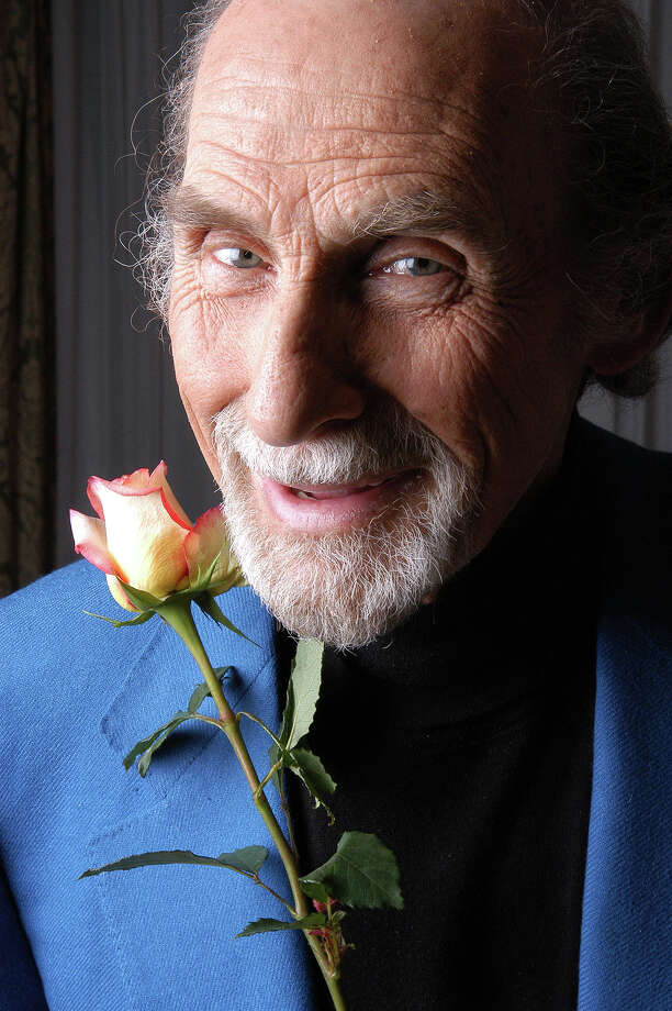 "** ADVANCE FOR SUNDAY, DEC. 21 ** Comedian Sid Caesar, 81, poses at the Pierre Hotel in New York, Nov. 4, 2003. The legendary comedian has released a new collection of sketches in his ""Buried Treasures"" series, digitally restored and available in VHS or DVD format, as well as a new book of memoirs titled ""Caesar's Hours."" (AP Photo/Jim Cooper) Photo: JIM COOPER / AP"
