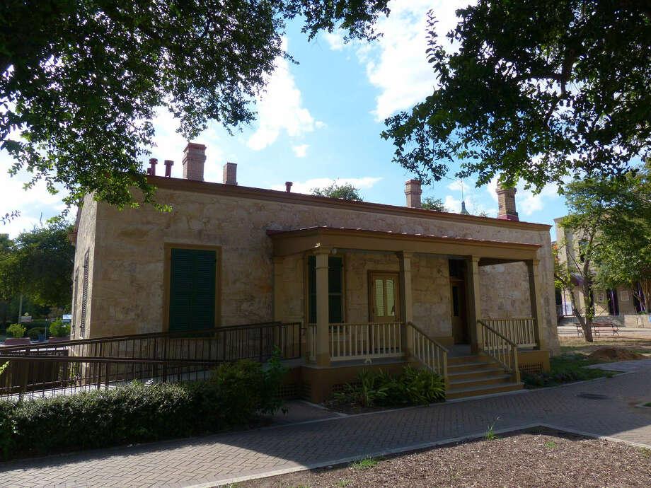 The Eagar House, named for Sarah Riddle Eagar, housed the Southern Baptist Exhibit during HemisFair '68 and remains on the park grounds. Photo: Billy Calzada / San Antonio Express-News