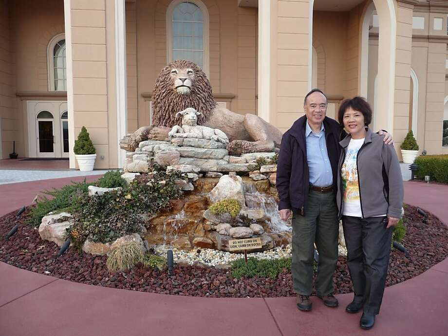Greg Chuck and Linda Yu.