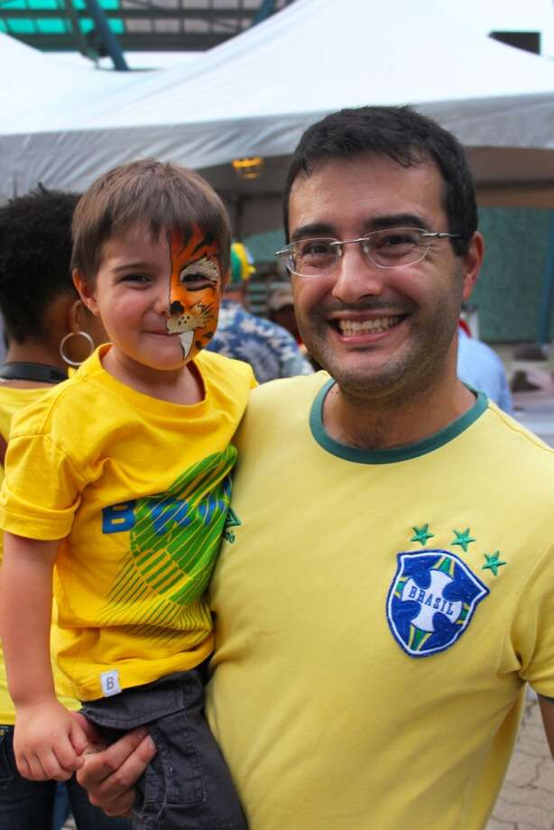 Houston's Brazilian Arts Foundation holds the family-oriented festival every September. Photo: Jorge Valdez, For The Chronicle
