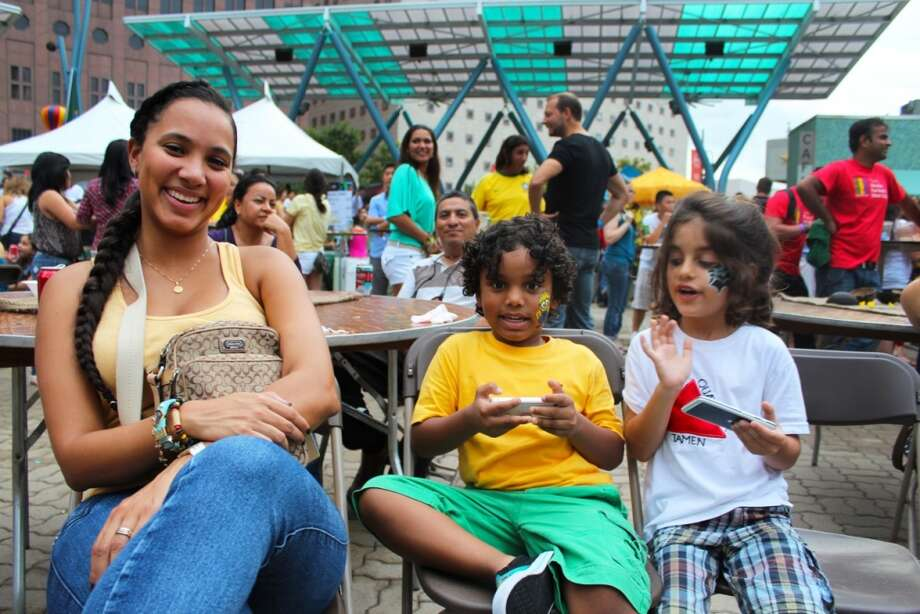 Houston's Brazilian Arts Foundation holds the family-oriented festival every September. Photo: Jorge Valdez