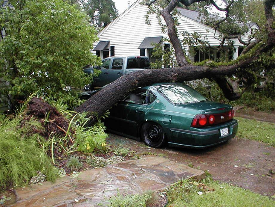 Damage from Hurricane Ike. Photo: Peter Zama / Peter Zama