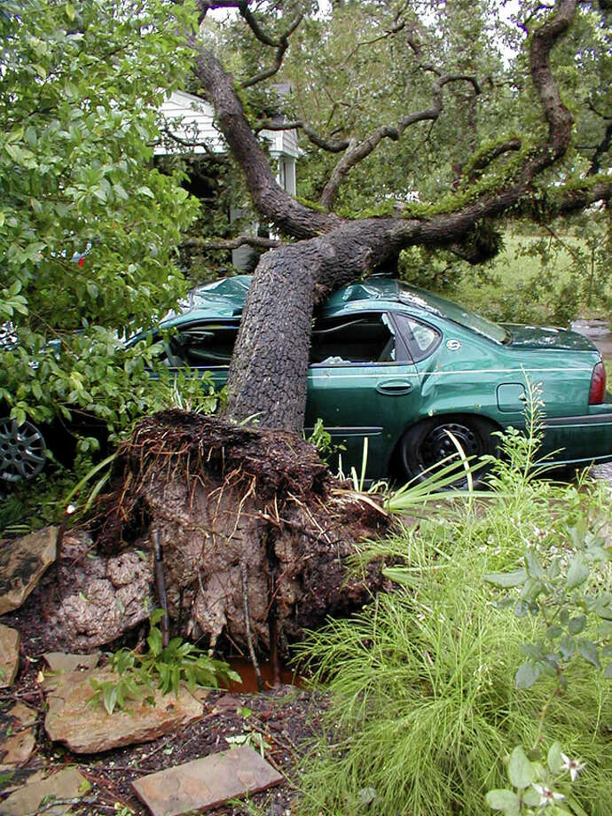 Damage from Hurricane Ike. Photo: Peter Zama