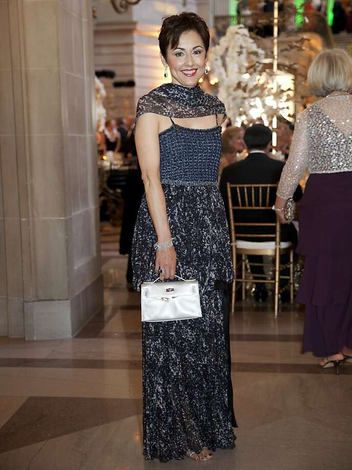Sako Fisher in Chanel at the 91st San Francisco Season-Opening Opera Gala in San Francisco Calif. on Friday, Sept. 6, 2013. Photo: Alex Washburn, Special To The Chronicle