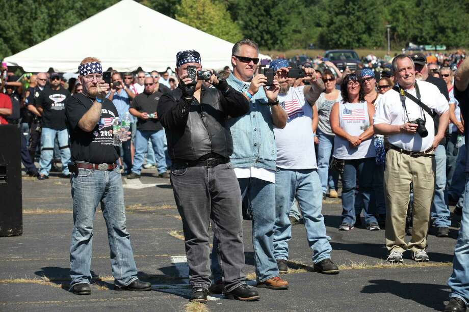 Riders attend the 13th annual CT United Ride, the largest 9/11 Tribute in CT, in Norwalk on Sunday, Sept. 8, 2013. Photo: BK Angeletti, B.K. Angeletti / Connecticut Post freelance B.K. Angeletti
