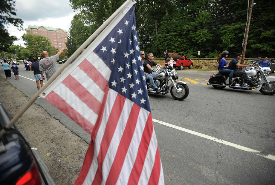 Riders participate in the 13th annual CT United Ride on Park Avenue in Fairfield, Conn. on Sunday, September 8, 2013. The event is the largest single charity ride in New England as well as the largest 9/11 tribute in the State of Connecticut. Photo: Brian A. Pounds / Connecticut Post